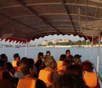 Boat ride on Lake Pichola